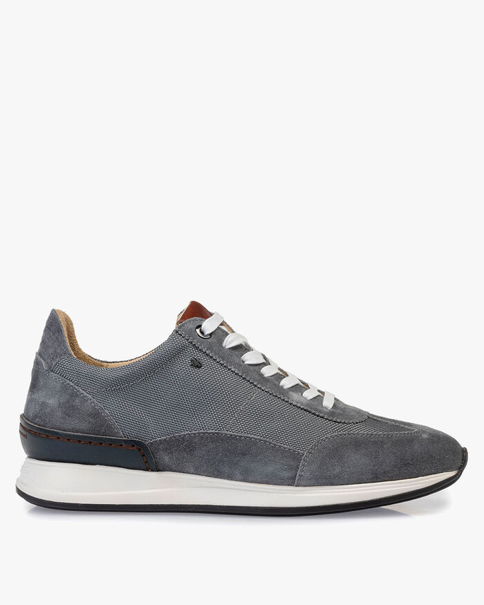 Sneaker Textil dunkelgrau