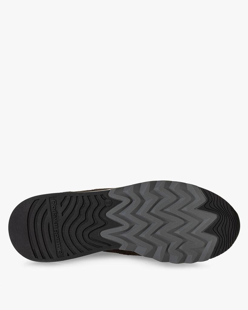 Nineti Sneaker Wildleder dunkelgrün