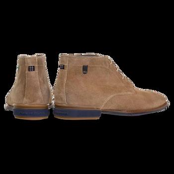 Stiefel Wildleder sandfarben