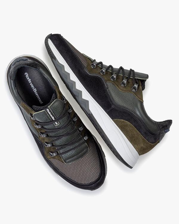 Nineti sneaker dark green