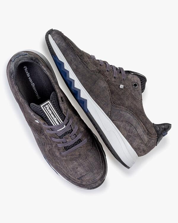 Nineti sneaker suede dark grey