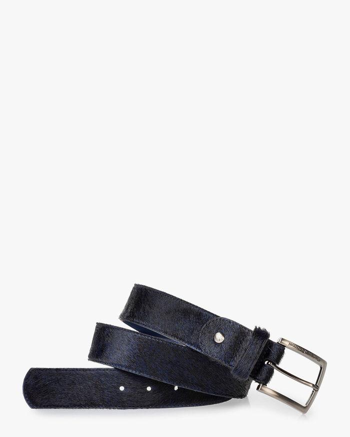 Belt pony dark blue
