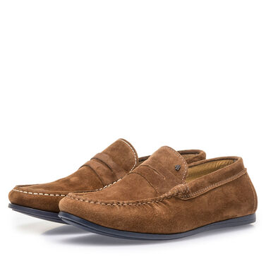 Wildleder-Loafer Van Bommel