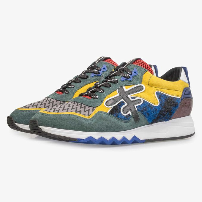 Mehrfarbiger Premium Sneaker