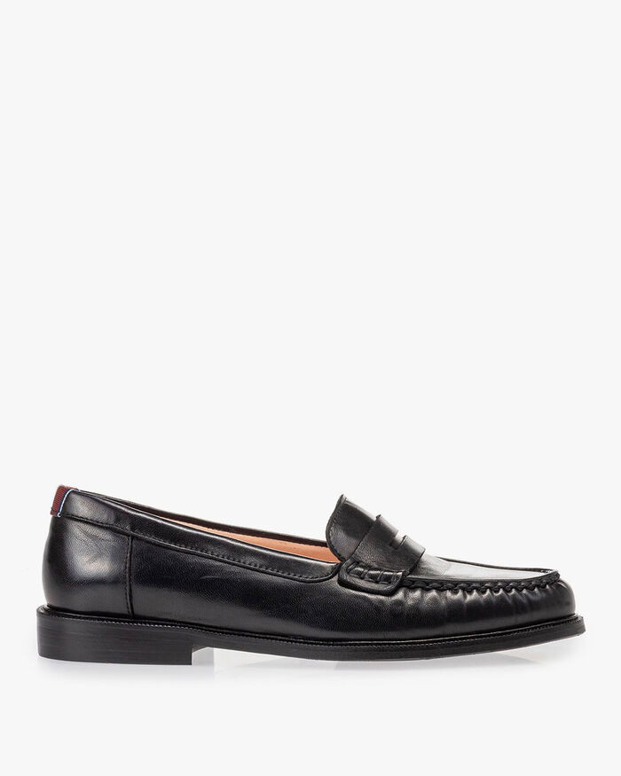 Loafer black nappa leather