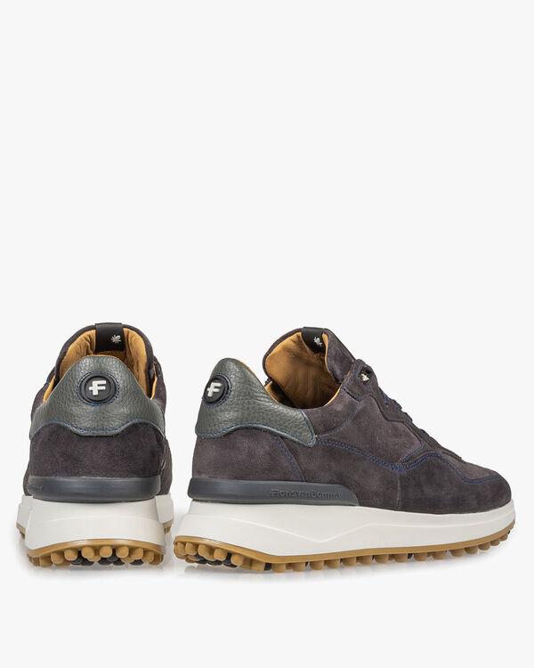 Dunkelgrauer Wildleder-Sneaker
