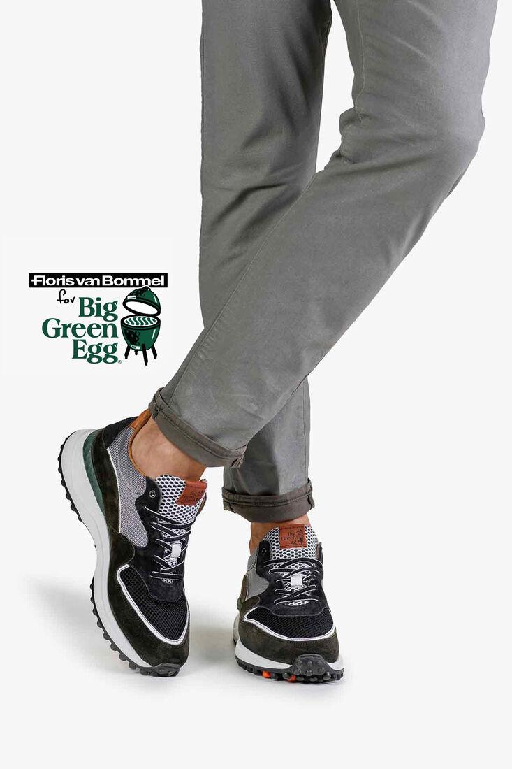 Big Green Egg sneaker suede