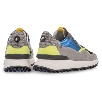 Multi-colour sneaker yellow/blue