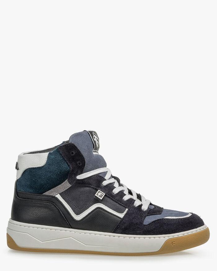 Sneaker suede dark grey