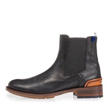 Leather chelsea boot women