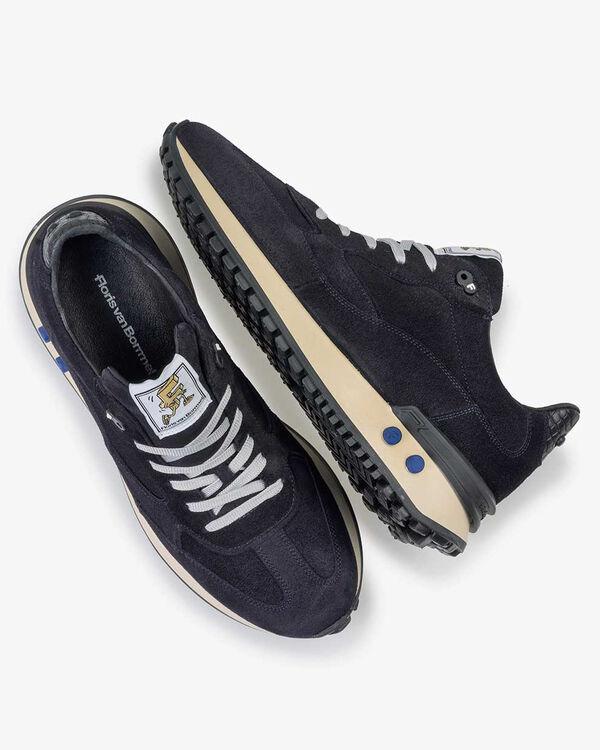 Vinti Sneaker Wildleder blau