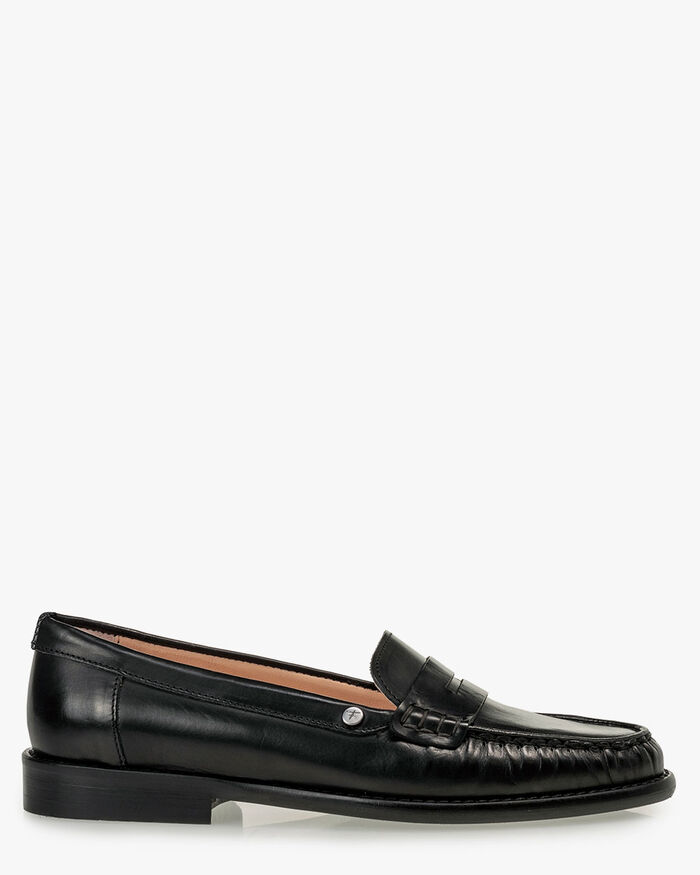 Loafer Kalbsleder schwarz