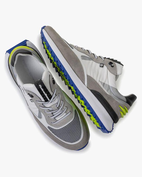 Sneaker Textil weiß