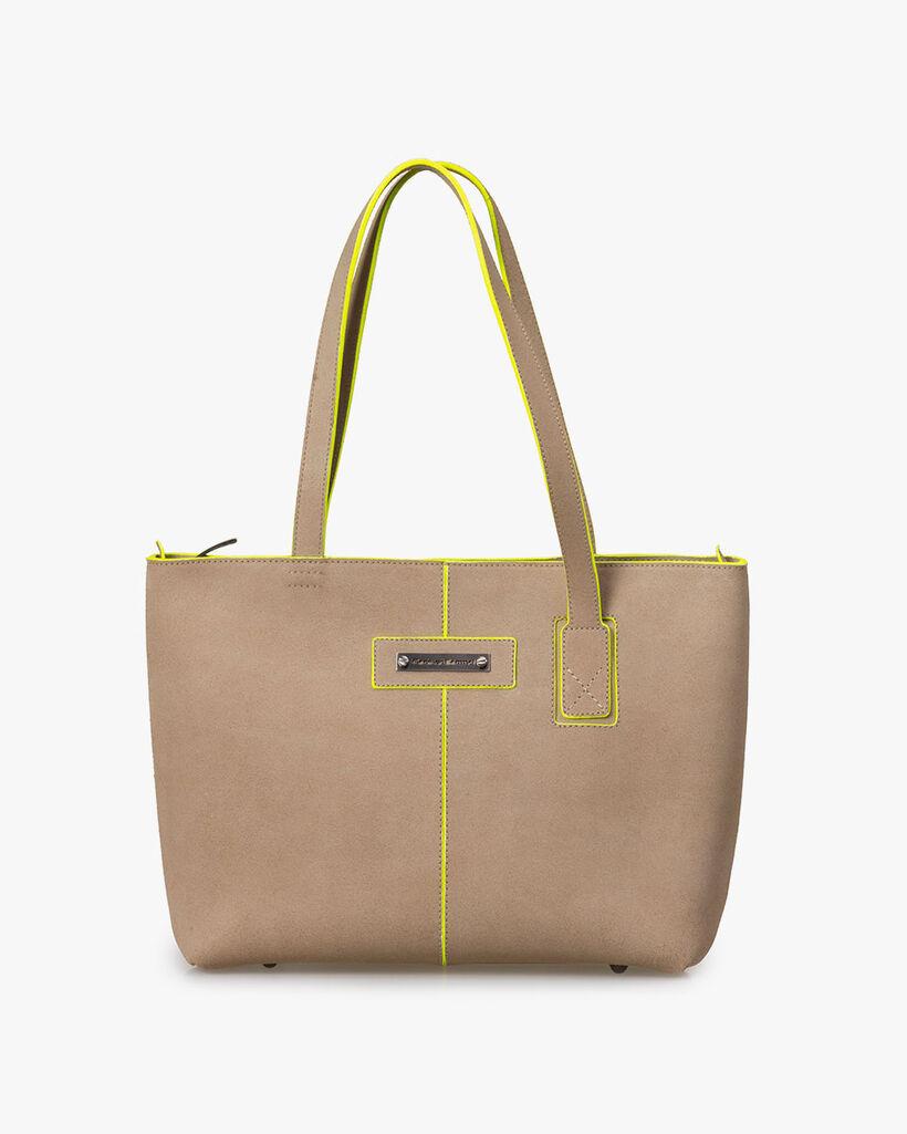 Shoulder bag leather