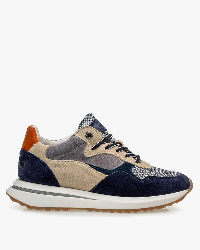 Sneaker blue suede