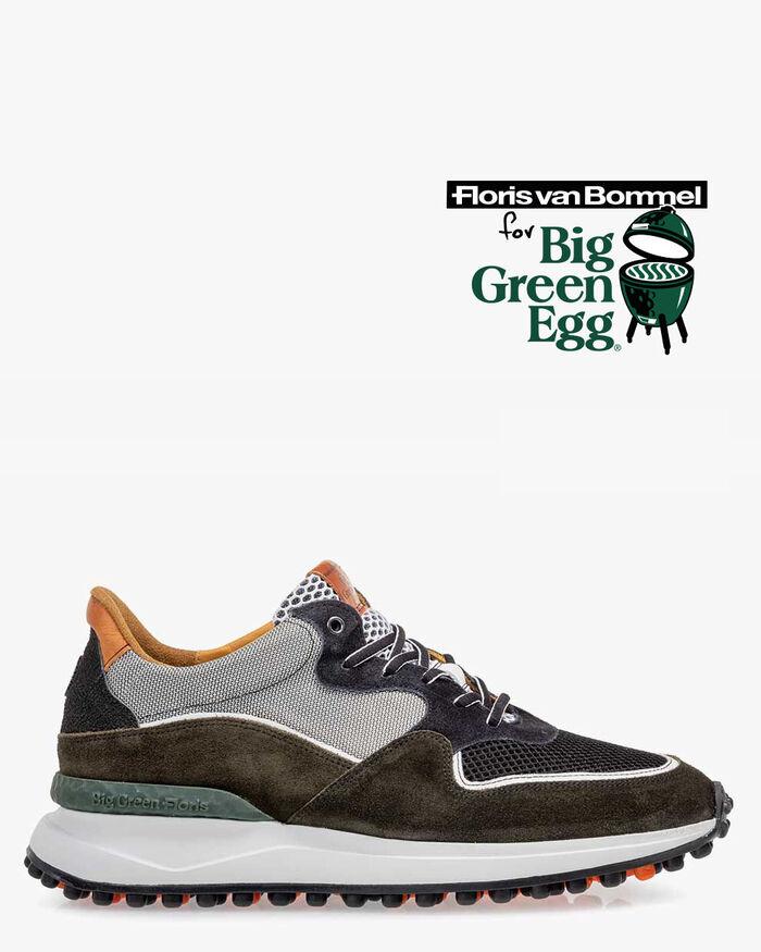 Big Green Egg Sneaker Wildleder