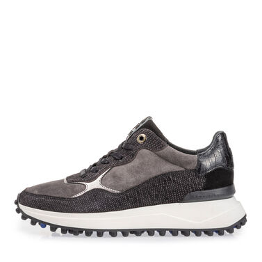 Leder-Sneaker für Damen