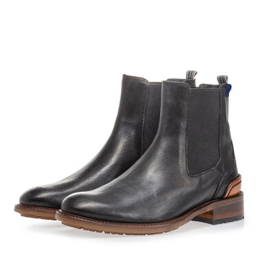 Leather chelsea boot women