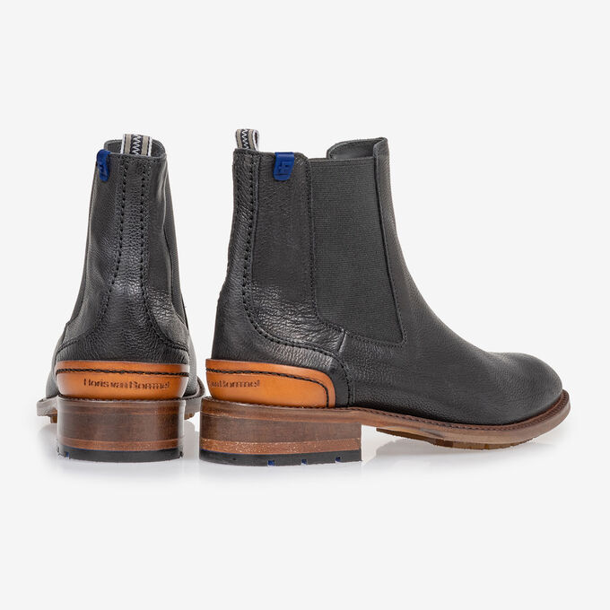 Chelsea boot black calf leather