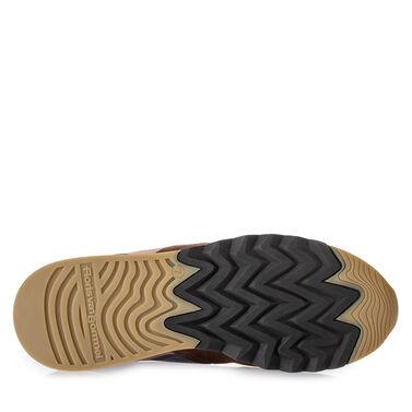 Leather 'Nineti' sneaker