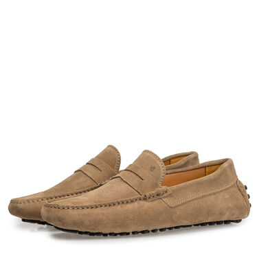 Leather moccasin Van Bommel