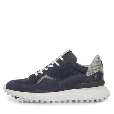 """Leder-Sneaker mit """"Noppen""""-Sohle"""