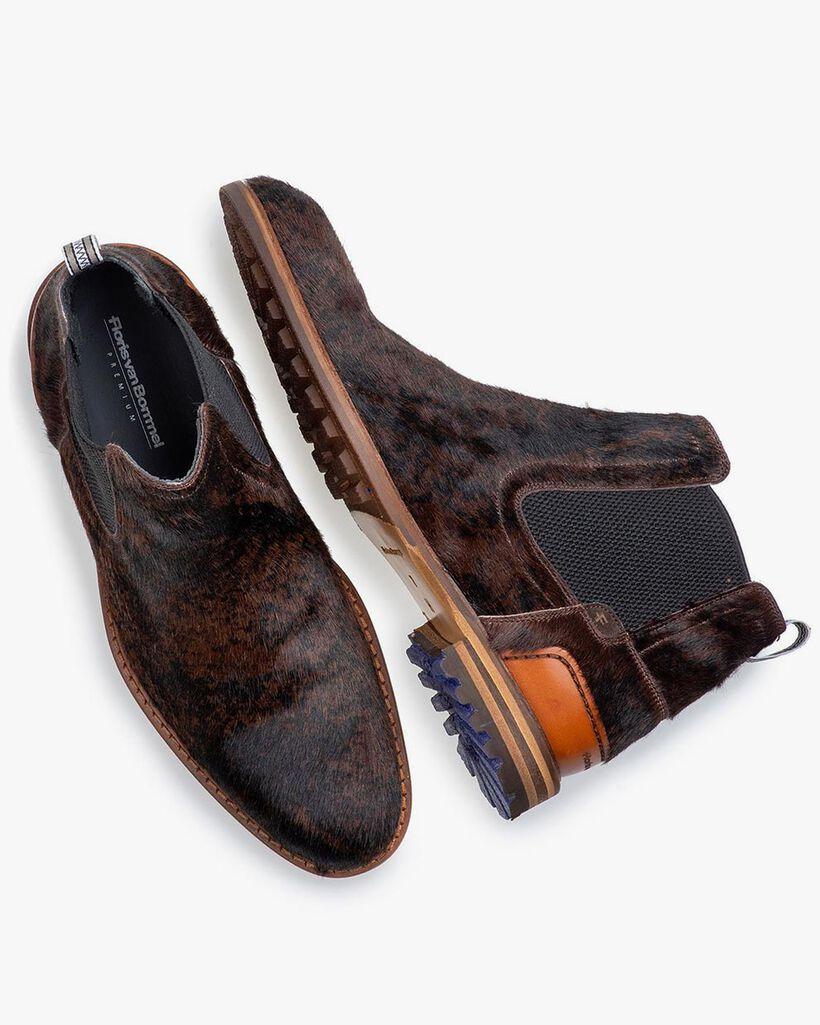 Chelsea Boot Pony-Style braun