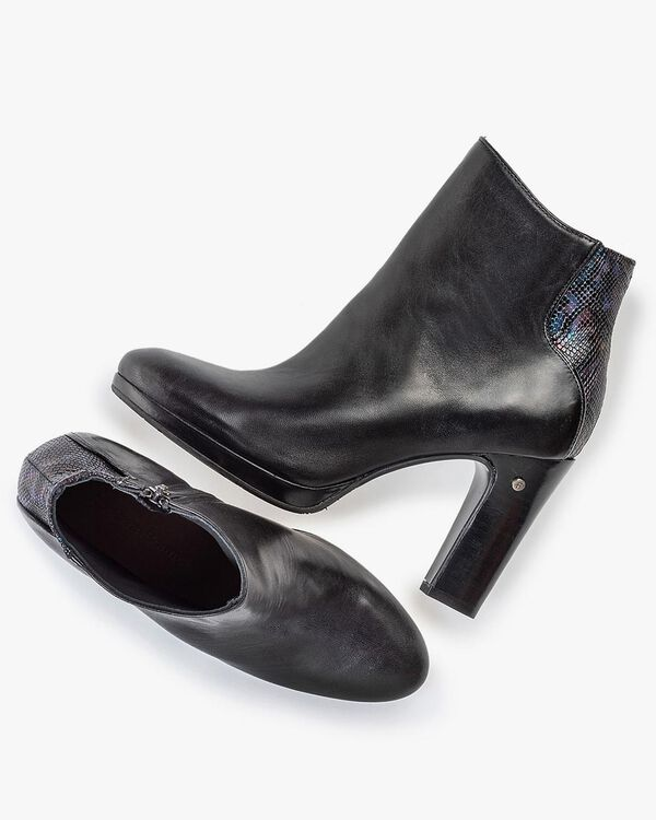Ankle boot nappa leather anthracite