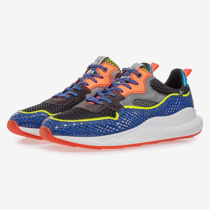 Bulki Sneaker neonblau