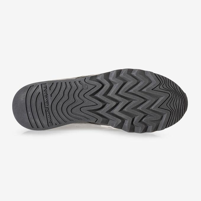 Nineti Sneaker Leder schwarz