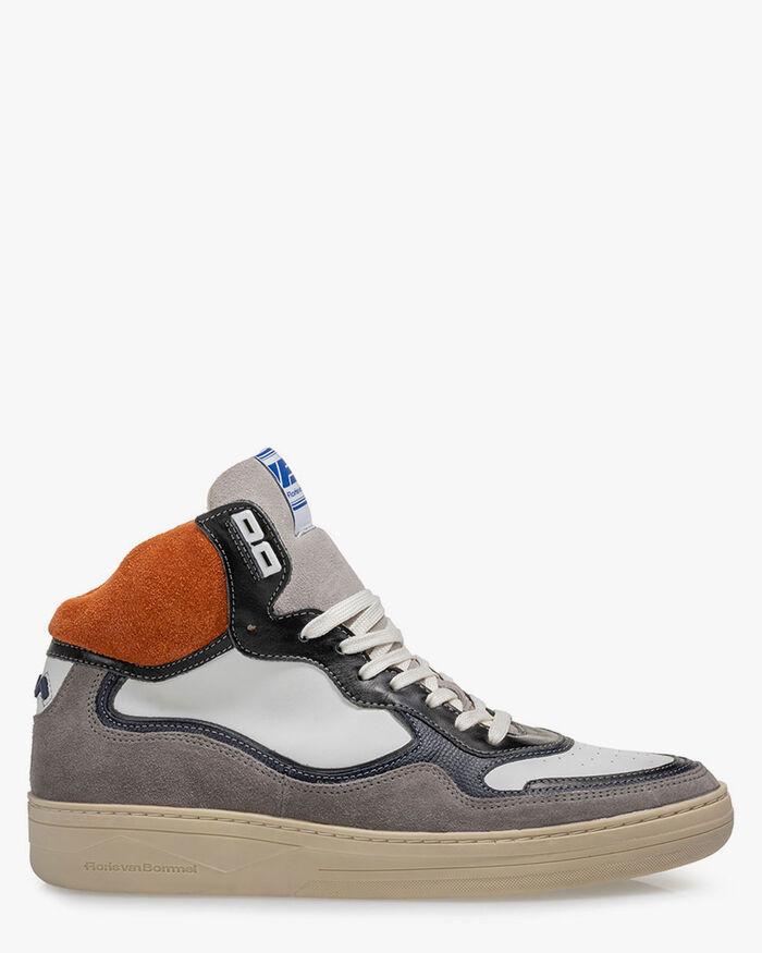 Sneaker Wildleder orange