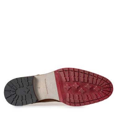 Brogue Schnürstiefel aus Leder