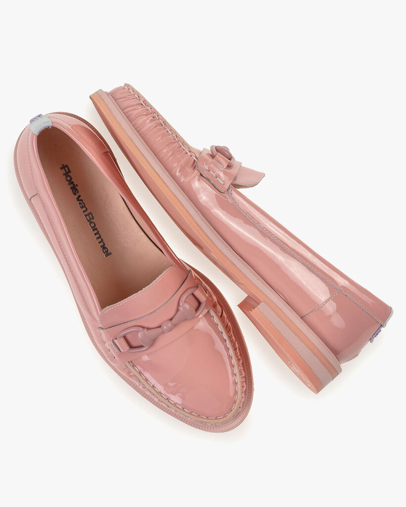 Loafer Lackleder pink