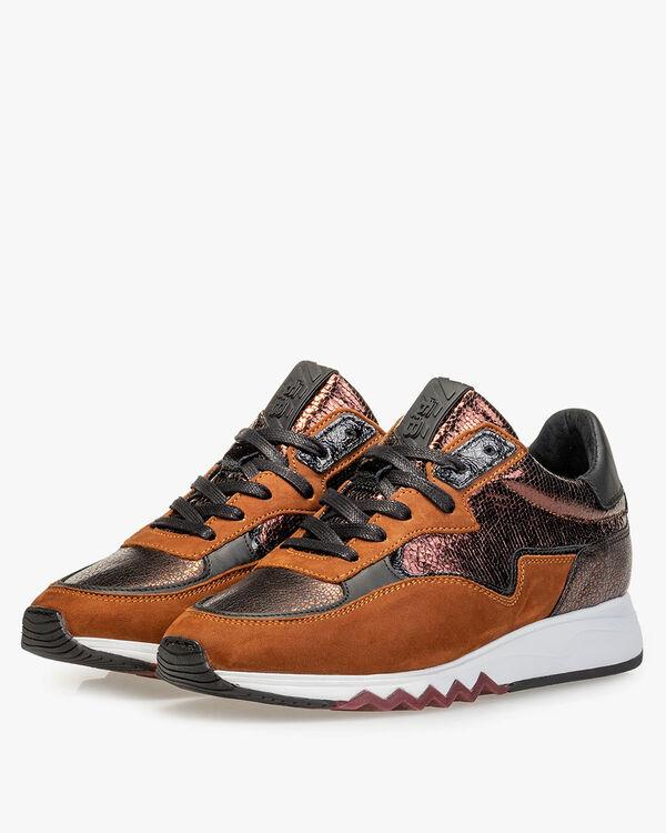 Nineti nubuck leather brown