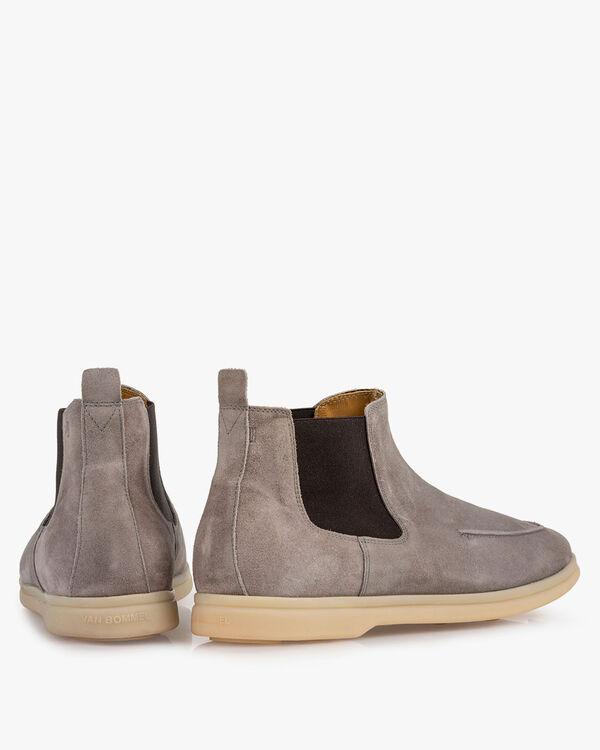 Chelsea Boot Wildleder grau