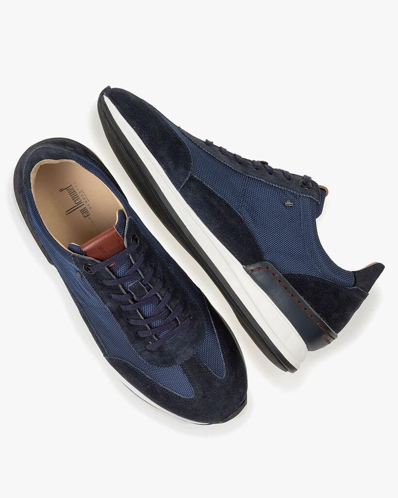 Sneaker Textil dunkelblau