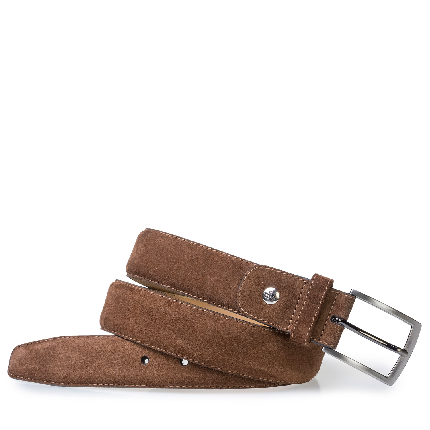 75076/36 - Belt suede leather brown