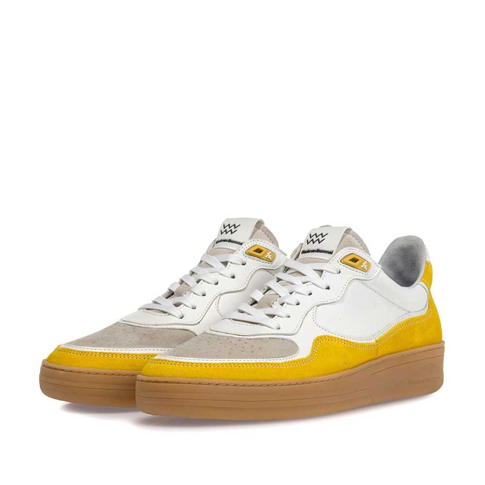 16271/04 - Sneaker suede leather yellow