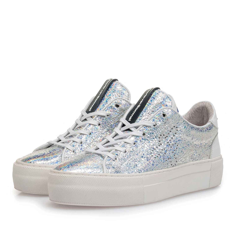 low priced f732a 0f633 Silber Metallic Damen-Sneaker 85266/00 | Floris van Bommel®