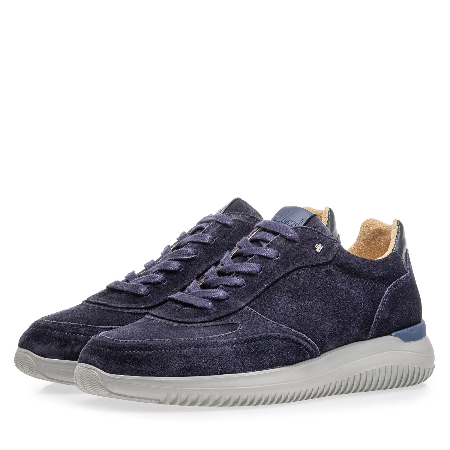 16306/11 - Blue suede leather sneaker