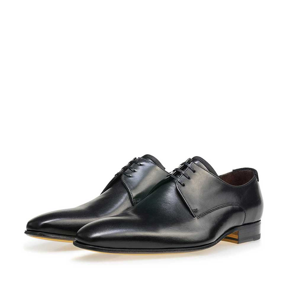 14095/03 - Black calf's leather lace shoe