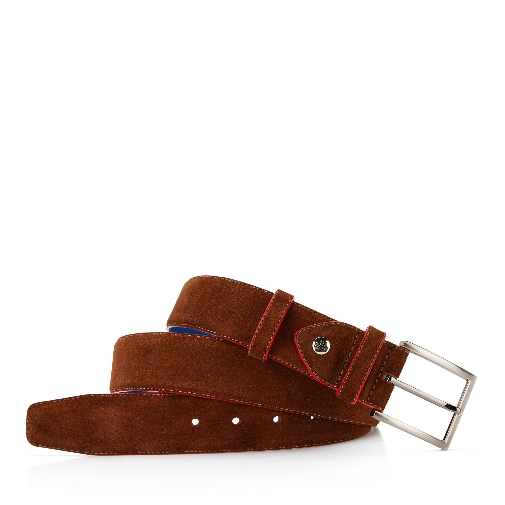 75037/07 - Brown suede leather belt