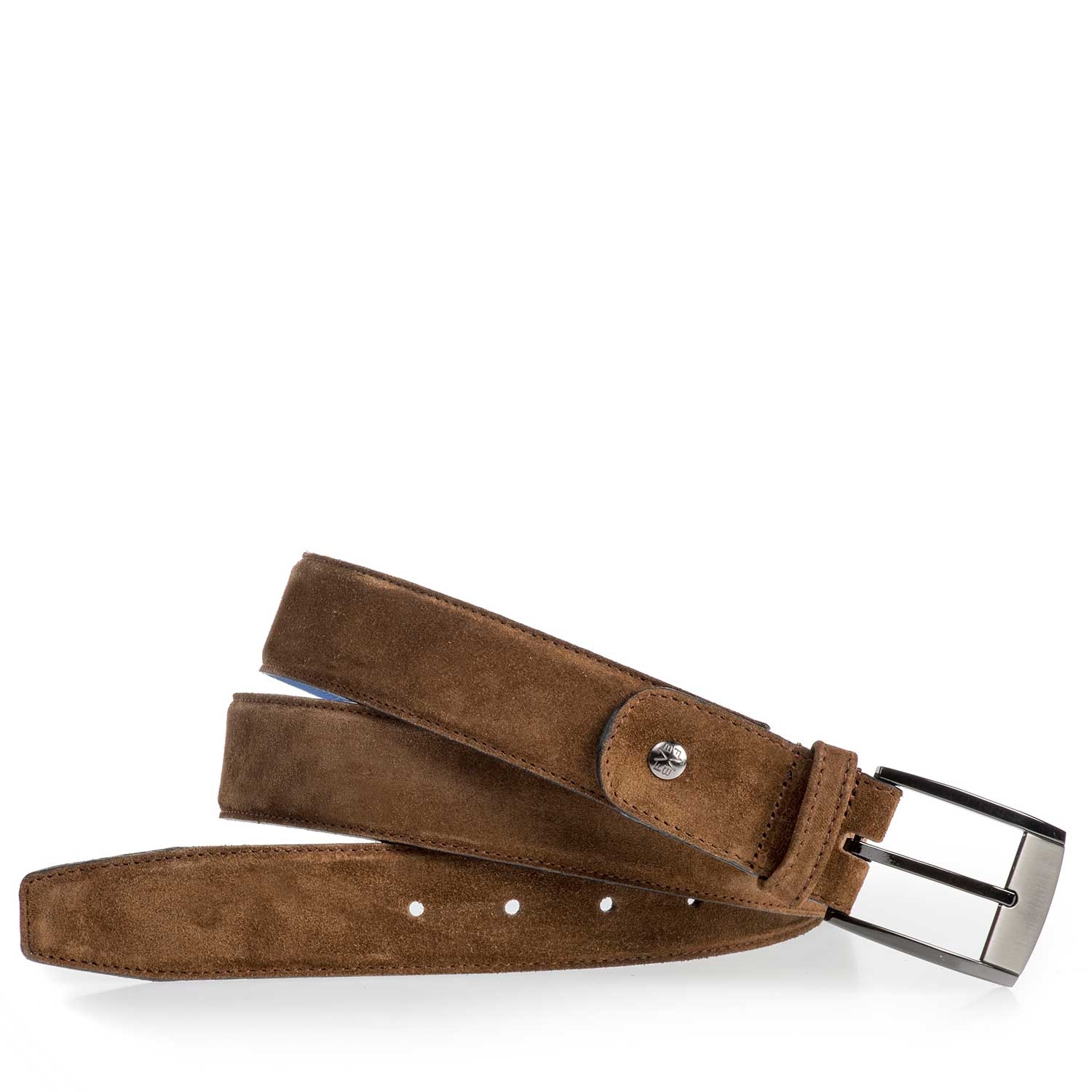 75183/05 - Brown suede leather belt